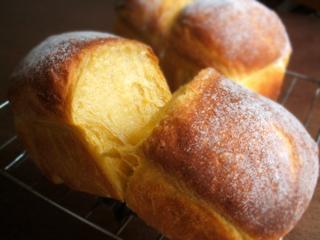 ほわほわ かぼちゃパン(ミニ食、あんぱん、他)_c0110869_2284100.jpg