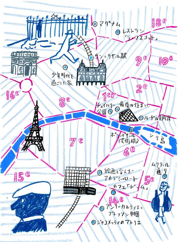 そのイラストマップ 丸山誠司こっちも展望台