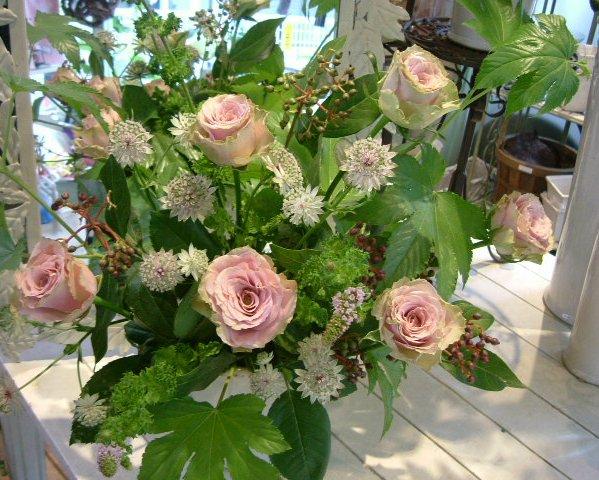 オークリーフ花の教室(山田さんの作品)_f0049672_15254813.jpg