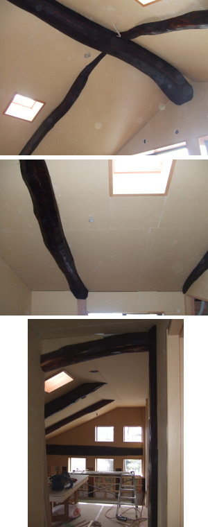 2月17日 キッチン施工、和室天井仕上げ_a0073775_1014168.jpg