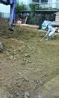 地盤改良後の整地_f0052181_2261397.jpg