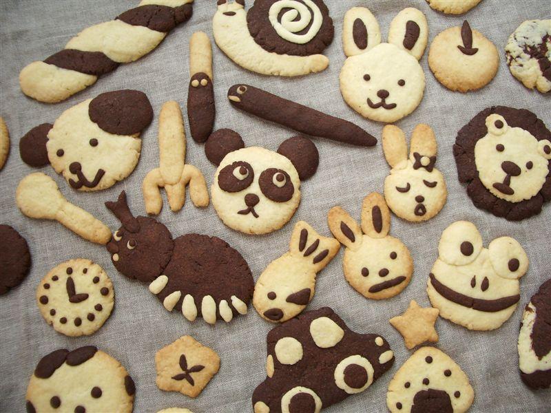 いろいろいろんなかたちのクッキーをつくってみよう♪_c0033678_187144.jpg