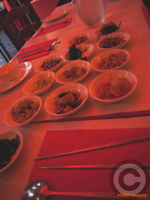 ■またまた中華風韓国料理を食す(パリ)_a0014299_19355480.jpg