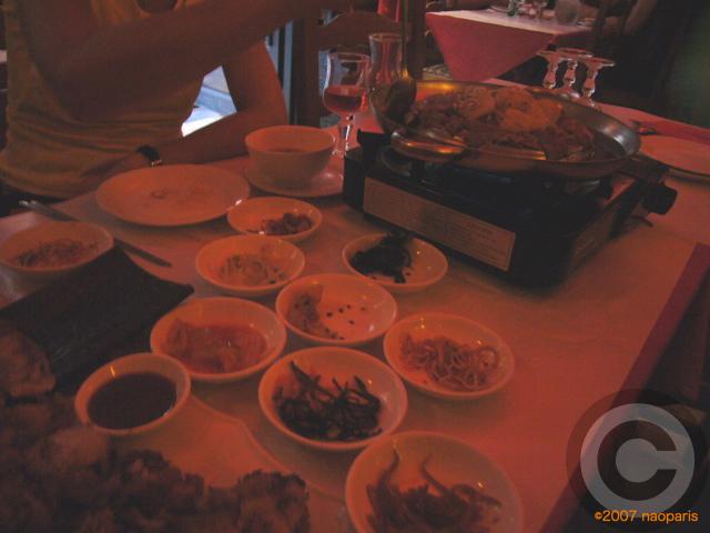 ■またまた中華風韓国料理を食す(パリ)_a0014299_19363469.jpg