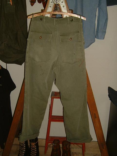 アメリカ軍  HBT ベイカーパンツ_d0121303_13414688.jpg