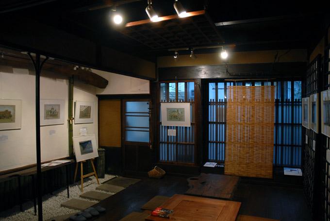 第5回西山遊野展東京vs京都都の華近代建築水彩画展_c0074640_2345113.jpg