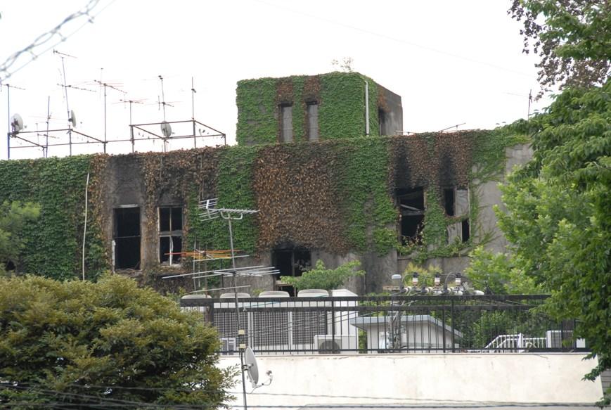 文京区清華寮の火災現場を写真撮りました_d0027795_12244878.jpg