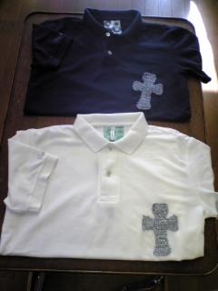 D-Craft  クロス付きポロシャツ  SHOP限定品!_d0108933_1922037.jpg