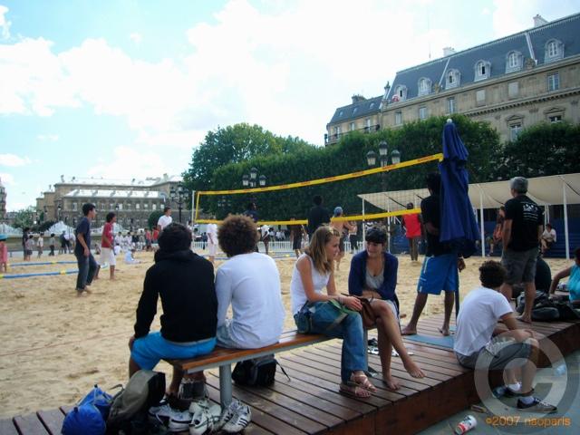 ■パリ市庁舎前で(パリ)_a0008105_726573.jpg