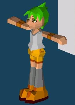 プレイヤーのポリゴンを作成しました。_a0007210_22214616.jpg