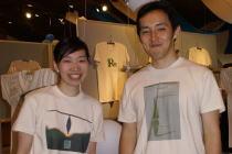 エコロジー・チャリティTシャツ・アート展~久米繊維の久米社長_f0006713_0592686.jpg