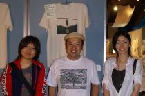 エコロジー・チャリティTシャツ・アート展~久米繊維の久米社長_f0006713_115979.jpg