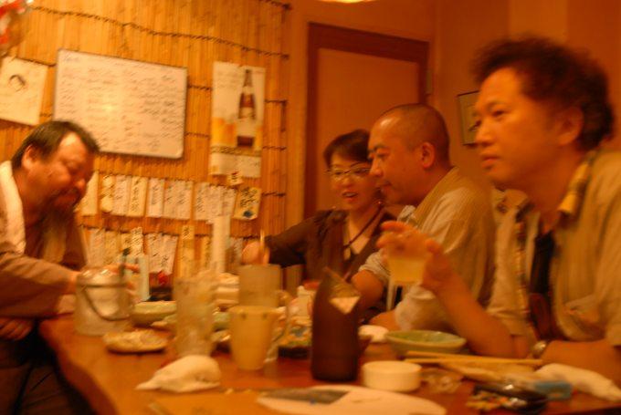 西山遊野展のち新旧幹事酒池肉林会の真実_a0064449_2403340.jpg