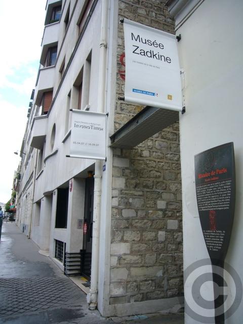 【Musée Zadkine】Zadkineザッキン美術館(パリ)_a0008105_432815.jpg