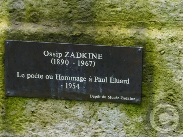 【Musée Zadkine】Zadkineザッキン美術館(パリ)_a0008105_4343083.jpg