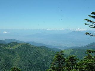 岩菅山~赤石山~大沼池 2/2_a0023246_22361413.jpg