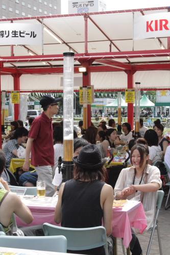 札幌ビアガーデン・スナップ写真_b0103470_204417.jpg