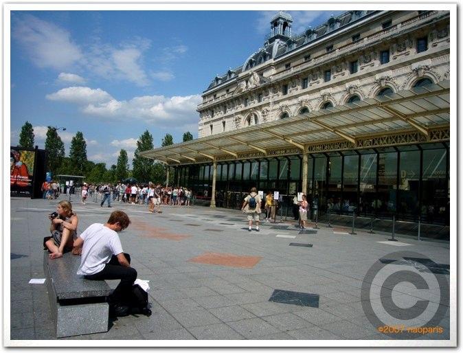 ■夏のオルセ美術館(パリ)_a0008105_523507.jpg