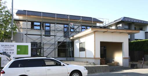 御所野の家 09:外壁と断熱材_e0054299_930148.jpg