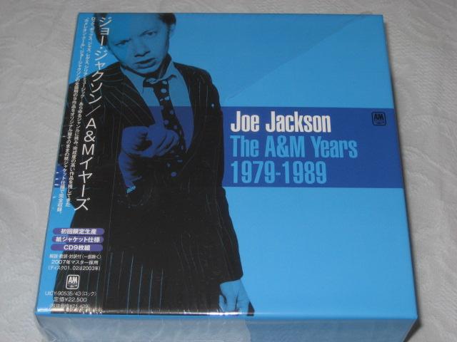 JOE JACKSON / THE A&M YEARS 1979-1989 (紙ジャケボックス)_b0042308_159242.jpg