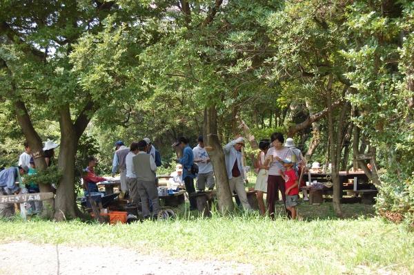 2007自然工作[竹風鈴をつくろう!]  in  うみべの森_c0108460_15535346.jpg