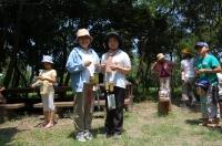2007自然工作[竹風鈴をつくろう!]  in  うみべの森_c0108460_1610363.jpg