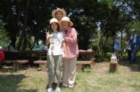 2007自然工作[竹風鈴をつくろう!]  in  うみべの森_c0108460_16113262.jpg
