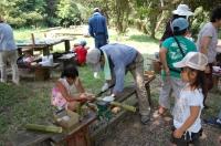 2007自然工作[竹風鈴をつくろう!]  in  うみべの森_c0108460_1663151.jpg