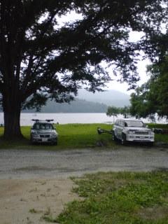 桧原湖に到着しました。_a0097491_15154848.jpg