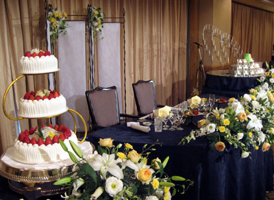 結婚披露宴と花火_a0047200_7465762.jpg