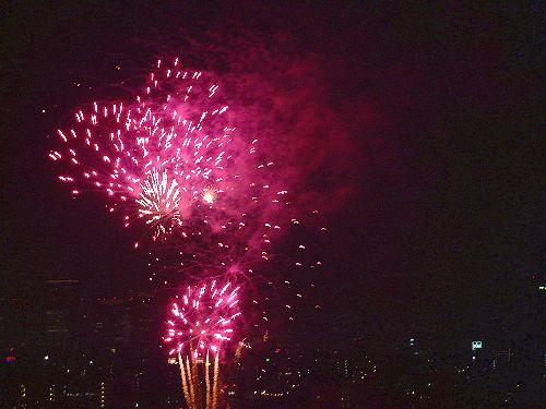 第33回 隅田川花火大会@ホームパーティ。..。.゚。*・。♡ _a0053662_1658318.jpg