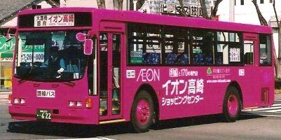 群馬バス いすゞU-LV224K +アイケー_e0030537_0225141.jpg