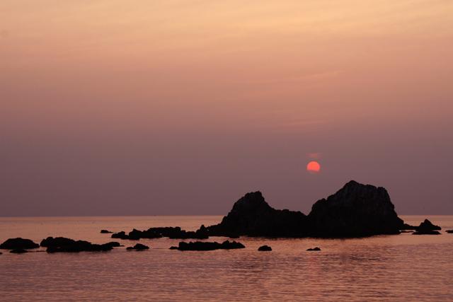 壁島の夕陽_d0074828_23563235.jpg