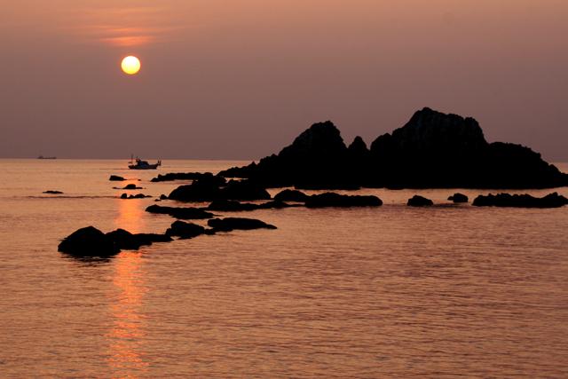壁島の夕陽_d0074828_2356510.jpg
