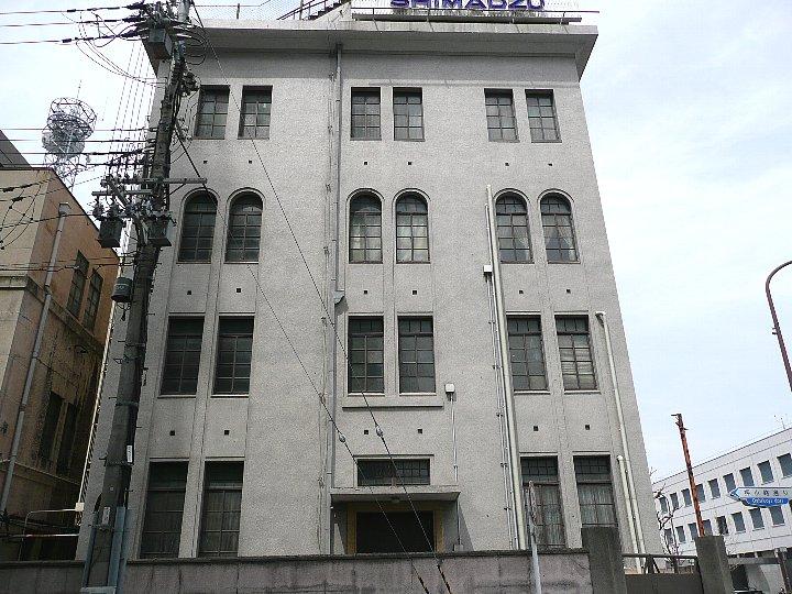 京都の島津製作所河原町別館_c0112559_1491349.jpg