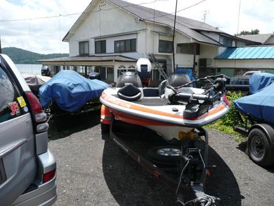 今日は野尻湖に来ています。_a0097491_1659257.jpg