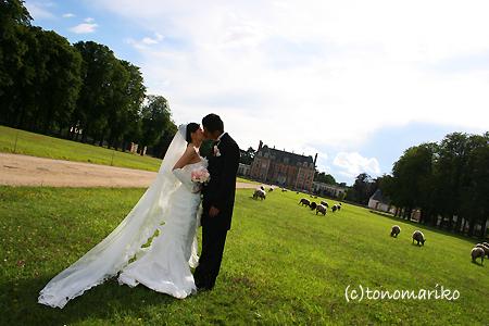 シャトーホテルウェディング 〜フランスの結婚式〜_c0024345_10495121.jpg