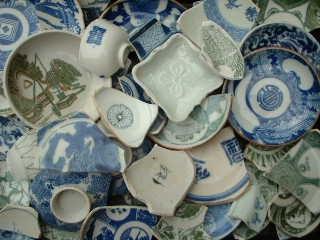陶片はどんな場所にあるか_f0133749_17211683.jpg