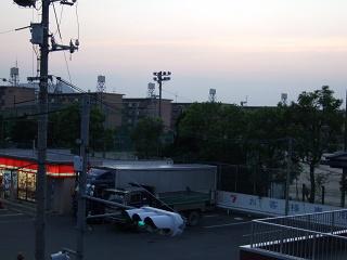 歩道橋の上から⑩ 海田町つくも横断歩道橋_b0095061_5483726.jpg