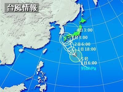 台風5号接近                  2007年8月1日_d0083265_975389.jpg