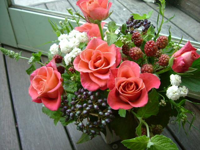 オークリーフ(赤い花)_f0049672_1124764.jpg