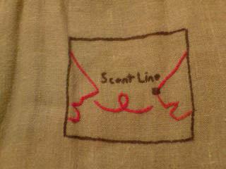Scent Line のロゴ&バッグ_c0099133_083349.jpg