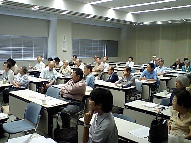 小熊旭先生講演会の会場写真その2_d0027795_15182584.jpg