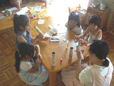 夏休み 母と子どものワークショップ_f0071303_3143787.jpg