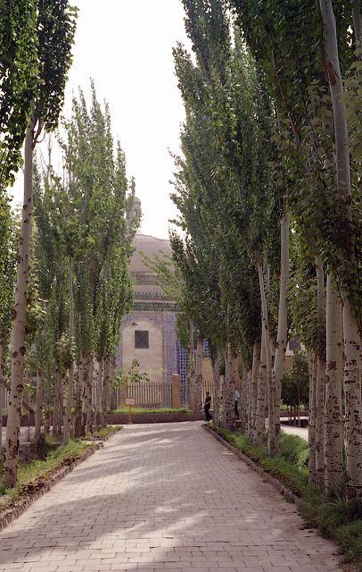 香妃墓   カシュガル10_b0112443_15301153.jpg