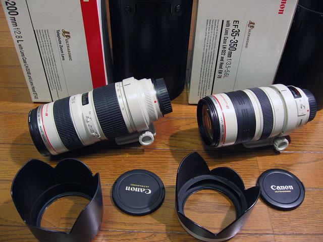 キヤノン EF 70-200/2.8L 、EF 35-350/3.5-5.6L  売却_b0042282_1028505.jpg