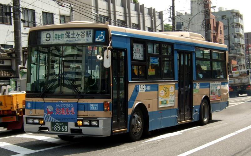 横浜市交通局 KC-JP250NTN (富士重工) : 研究所第二車庫