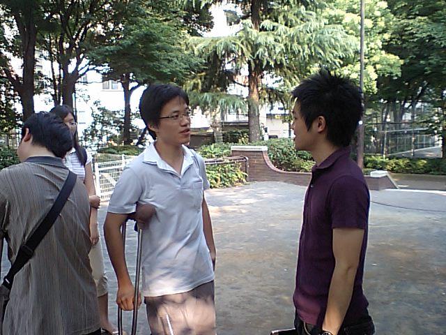 星期日漢語角の交流様子_d0027795_16284337.jpg