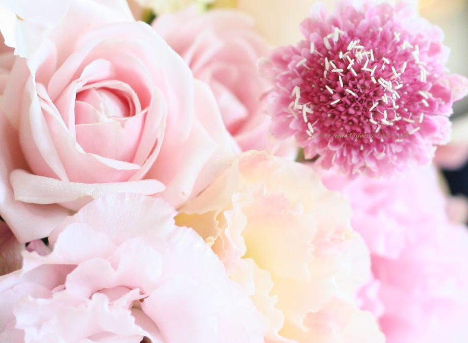 シェ松尾天王洲倶楽部さまの装花 夏のピンク_a0042928_2381298.jpg