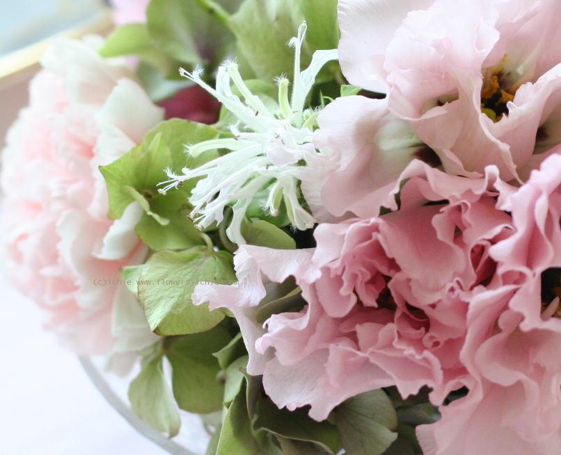 シェ松尾天王洲倶楽部さまの装花 夏のピンク_a0042928_239715.jpg